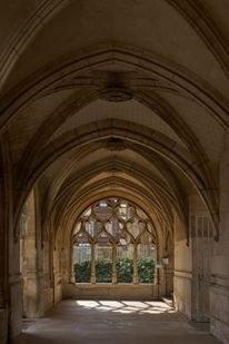 Cloitre cathédrale d'Évreux - Eure - Photo Roubinoff