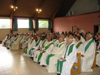 Diocèse d'Évreux - Fête des jubilaires prêtres et diacres.