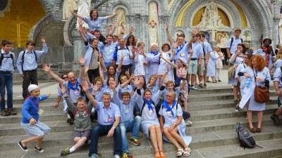 Pèlerinage diocésain à Lourdes - Hospitalité Notre Dame d'Évreux