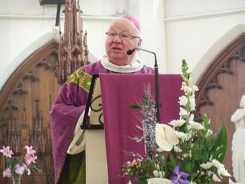 Mgr Christian Nourrichard  - Évêque d'Évreux - Photo C.Marchand