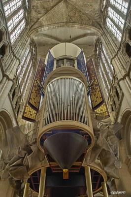 Orgues Cathédrale d'Évreux - Eure - Photo Roubinoff