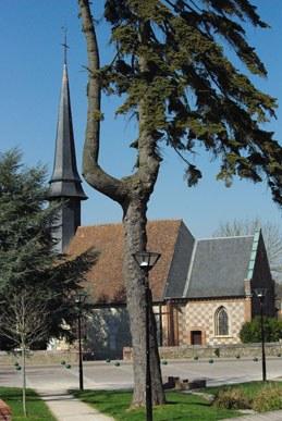 Église de St Sébastien de Morsent - Eure